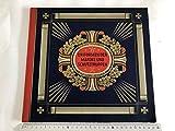 Uniformen der Marine und Schutztruppen. Waldorf Astoria Zigarettenfabrik. 1933. 24 Seiten mit 96 farbigen montierten Bildern komplett, farbig illustr. Okart.