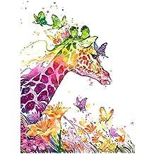 Suchergebnis Auf Amazonde Für Malen Nach Zahlen Giraffe