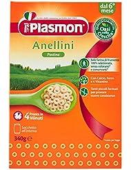 Plasmon Alimento per l'Infanzia Anellini - 340 gr
