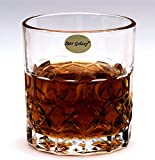#10: Star Galaxy, Crystalline Cut Whisky Glass Set of 6 pcs 330 ml