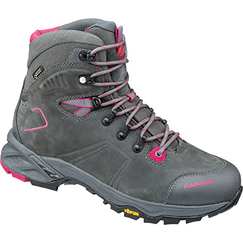 Mammut Nova Tour High GTX Women Backpacking/Hiking Footwear (High) graphite-magenta