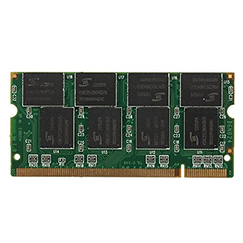 MECO 1GB DDR Non-ECC CL2.5 SODIMM Speicher RAM Memory 266MHz 200-pin Notebook Laptop