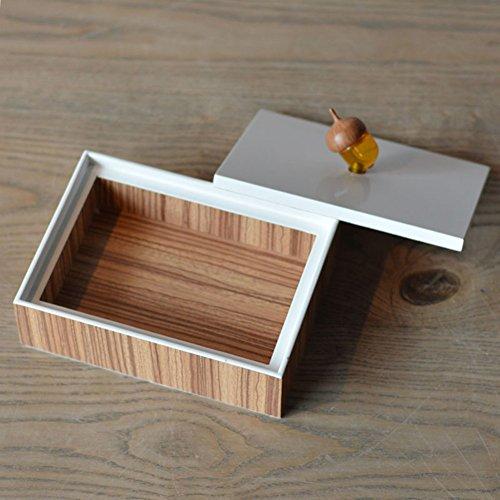Solide Holz Türen (neue chinesische Schmuckschatullen zu Hause/innovative solide Holz Schmuck-Box/Salon-Drapierung Schmuck-Box im Büro/Tag der offenen Tür Dekorationen-A)
