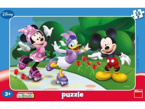 Dino Toys Dino toys301177Minnie und Freunde Rahmen Puzzle (Party Supplies Duck Daisy)