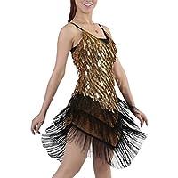 Amazon.es  ropa baile latino - Vestidos   Mujer  Deportes y aire libre 4fcd4f01b36
