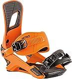 Nitro Snowboards Herren Rambler Bdg'19 All-Mountain Highend Snowboardbindung komfortable Allroundbindung Bindungen, Oj, M