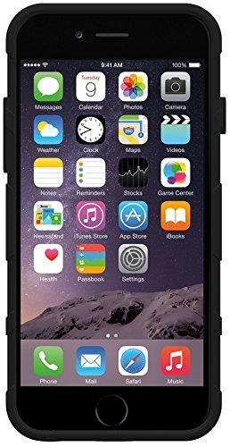 Trident Perseus Gel - Coque pour iPhone 6/6s - Noir Noir