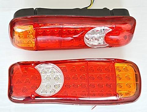 2x 12V LED restauration Feux arrière 12V pour camping-car Châssis