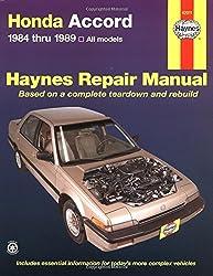 Honda Accord 1984 thru 1989 All Models (Haynes Repair Manual) by Colin Brown (1998-04-08)