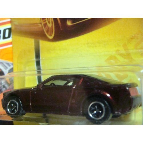 Matchbox Ford Mustang GT Concept Highly Detailed Issue Deep Brown 3 Lug #21 Scale 1/64 Collector by Matchbox