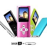 Btopllc Music player e lettore MP3, lettore multimediale, musica digitale MP3/MP4lettore scheda di memoria interna, video Player