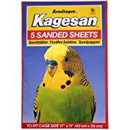 Kagesan Sanded Sheets Number 6 Red 43x28cm (17x11) 5 Pack