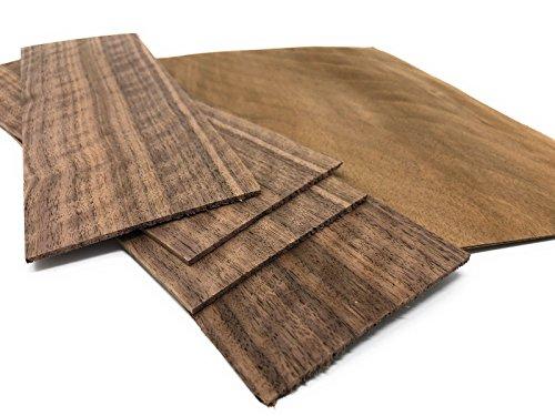 Impiallacciatura di legno di noce, adatta per: modellismo, lavori di riparazione, restauro, fai da te, intarsio.