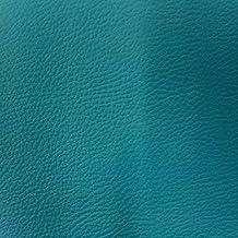 Craftine Simili cuir d'ameublement uni Bleu canard - Par 50 cm