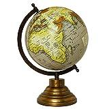 CRAFTSTRIBE Globo giratorio de escritorio Globos terráqueos del mundo Geografía Decoración de...