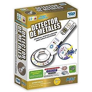 Toy Partner- Artec CREA tu Detector de Metales, Color Blanco/Negro/Rojo/Verde (95050)