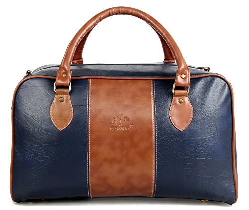 The Clownfish Ambiance Series Blue Unisex Travel Duffle Bags