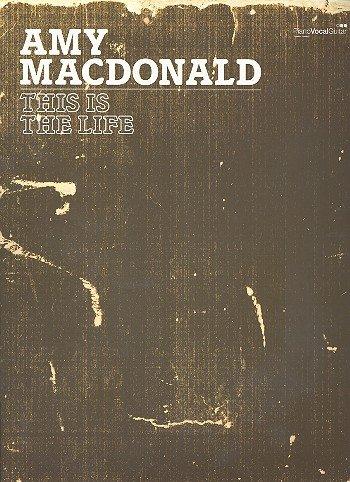 is The Life - Songbook mit Bleistift - Alle Songs des erfolgreichen Albums u.a. MR Rock & ROLL und dem Bonus-Song Caledonia arrangiert für Klavier, Gesang und Gitarre ()