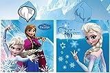 for-collectors-only Frozen Poncho Anna & ELSA Handtuch Die Eiskönigin - völlig Unverfroren Badetuch Strandtuch Disney Beach Towel