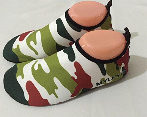 Sapatos Para Mulheres Homens Verde Do Sapatas Panegy Sapatos A Praia De Surf Aqua Camuflagem Sapatos Azul 45 Banho E 36 De Unissex Tamanho 0O1Zq07