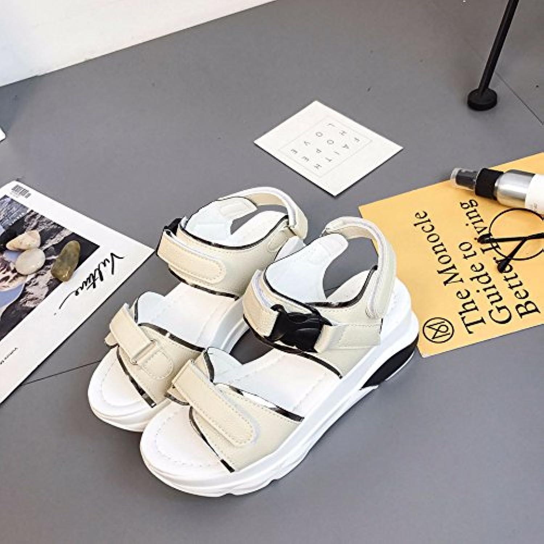 les étudiants whlChaussure s sandales de fond fond fond et sandales summer chers à fond plat épais de plage décontracté ...b0 7d jcspwg parent   Discount  a140a3