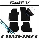 VVVV Golf V Bj. 2003-2009 Fussmatten Autoteppiche COMFORT