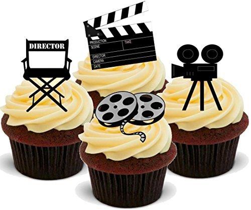 Film Director Mix - Geburtstag / Mischtechnik Student / Gradiert - Witzige Neuheit Geburtstag PREMIUM AUFRECHTSTÄNDER Essbare Waffeln Karte Kuchen Topper Deko (Neuheit-film)