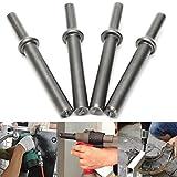 MYAMIA 4Pcs Air Hammer Anvils 45# Steel Coupped Bit Für Pneumatische Bits