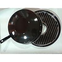 Algon AG30 Grille Gaz Fer Fondu Noir 32 x 14 x 26 cm