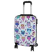 Cabin Suitcase for Children Owls Motif