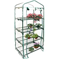 lolly-U PVC Warm Garden Tier Mini Household Plant Greenhouse Cover (without Iron Stand)