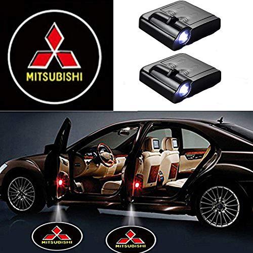 MIVISO Wireless Car Door Led Benvenuto Proiettore Laser Logo Light Light Shadow Ghost Light Logos 2 pezzi