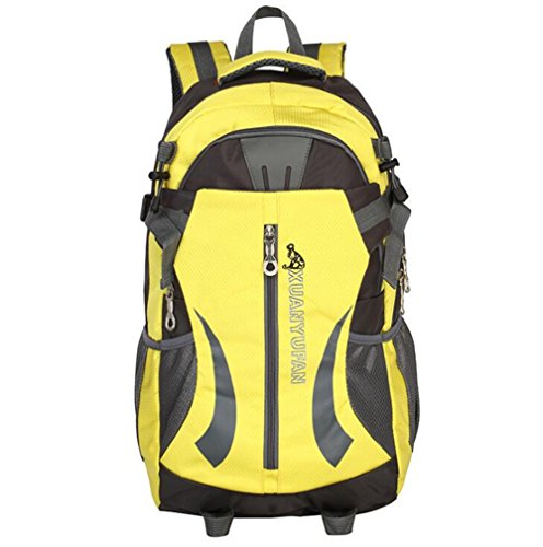 Wmshpeds Grande capacità 40L outdoor coppia pacchetto impermeabile zaino borsa di arrampicata borsa da viaggio D