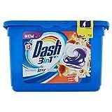 Dash Pods 3in1Waschmittel Fresh Bernstein 15Wäschen–3Packungen