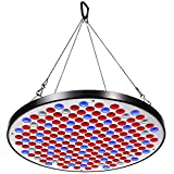 LED Grow Light KINGBO 50W UFO Grow Panel Full Spectrum for Hydroponic Indoor Plants Seeding Growing and flowering.