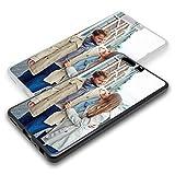 Personalisierte Premium Foto-Handyhülle für Huawei-Serie selbst gestalten mit Foto bedrucken, Hülle:Hardcase / Schwarz Matt, Handymodell:Huawei P9