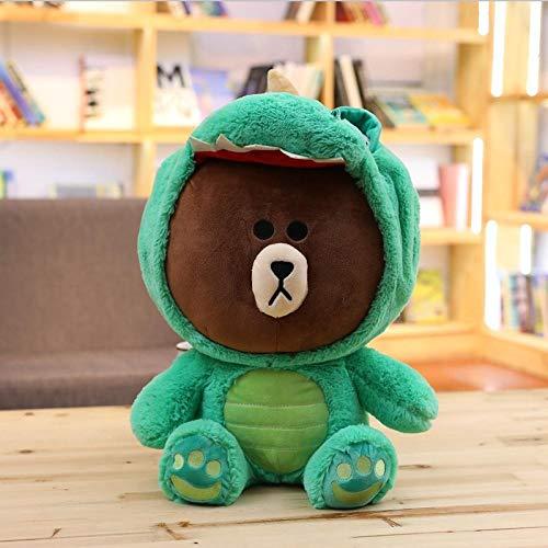 Sieht Affe Der Kostüm - upupupup Plüschtiere Teddybär Dinosaurier niedlichen kostüm Tier plüsch weiche Puppe kinderspielzeug Geschenk @ 20cm_grün Dargon
