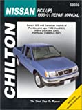 Chilton Nissan Pick-ups (98-01) Repair Manual (Chilton's total car care)