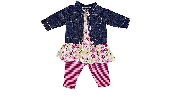 K/äthe Kruse 0142802 Birthday Outfit 39-41 cm Pink