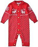 Baby Strick Strampler Weihnachten