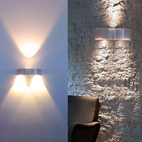 Auralum® Alta Calidad 3W 300LM LED Lámpara de Pared Blanco Cálido 2800-3200K