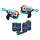 X-Shot Pack 2 Pistolas Recoil + 6 Botes (ColorBaby 44769)