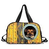 Damen/Herren Yogatasche Canvas Tasche Reisetasche Handtasche / Umhängetasche groß,Canvas Schultertasche Hobo Bags für