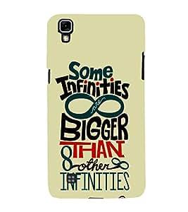 Some Infinities Bigger 3D Hard Polycarbonate Designer Back Case Cover for LG X Power