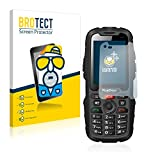 BROTECT Schutzfolie Matt für RugGear RG310 [2er Pack] - Anti-Reflex, Anti-Fingerprint, Anti-Kratzer