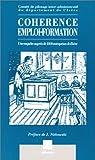 Telecharger Livres Coherence emploi formation Une enquete aupres de 1000 entreprises de l Isere (PDF,EPUB,MOBI) gratuits en Francaise