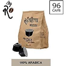 96 capsule compatibili Dolce Gusto - 96 capsule MyGrey caffè compatibili macchina caffè Dolce Gusto - Macchina caffè Dolce Gusto caffè MyGrey 100 capsule 100% Arabica - MyRistretto