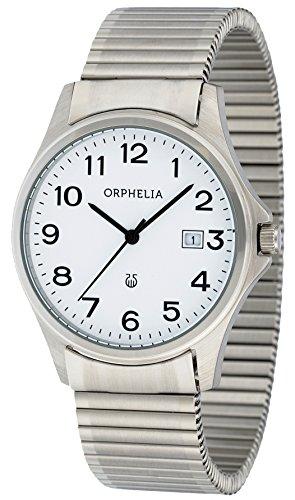 Orphelia - OR53770818 - Montre Mixte - Quartz Analogique - Bracelet Acier inoxydable Argent
