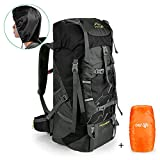 outlife Hiking Backpack, 60L Large Rucksack for Men Women, Tear and Water-resistant Ideal