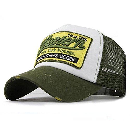 Gusspower Gorras Beisbol, Gorra para Hombre Mujer Sombreros de Verano Gorras de Camionero de Hip Hop Impresión Bordada, Talla única,...